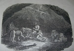 Daniel  1834 Bible